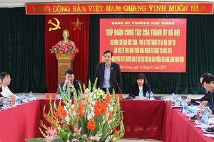 Phó Bí thư Thành ủy Đào Đức Toàn: Phát huy vai trò nêu gương của cán bộ, đảng viên