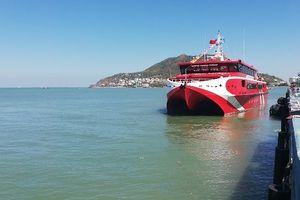'Siêu tàu' cao tốc nối TP Vũng Tàu với Côn Đảo đi vào hoạt động