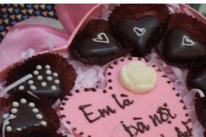 Những mẫu socola có thể khiến bạn gái đổ gục trong ngày Valentine