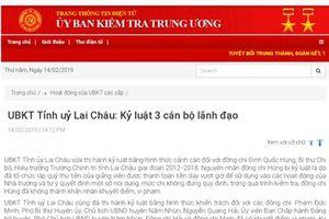 Thu chi không đúng quy định, Hiệu trưởng trường chính trị tỉnh Lai Châu bị kỷ luật