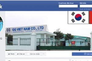Hưng Yên: Công ty TNHH GG Việt Nam xả nước thải, khí thải vượt chuẩn quy chuẩn kỹ thuật