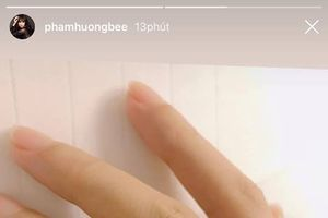 Phạm Hương đeo nhẫn kim cương, xác nhận đã đính hôn ngày 14/2