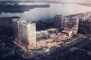 Diện mạo mới của siêu dự án Lotte Mall Hanoi