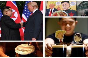 Thượng đỉnh Mỹ-Triều: Người dân Singapore 'tranh thủ' kiếm tiền như thế nào?