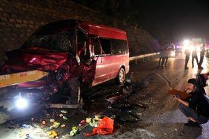 Tai nạn trên cao tốc Hà Nội - Lào Cai, 12 người thương vong