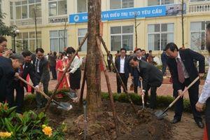 Ngành Y tế Thủ đô phát động Tết trồng cây