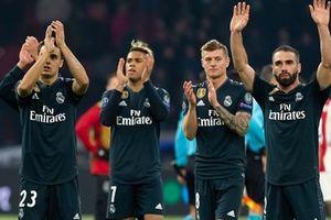Đánh bại Ajax, Los Blancos tiến gần đến tứ kết Champions League