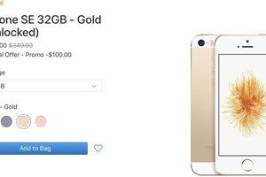iPhone SE tái xuất trên website Apple, giá 249 USD