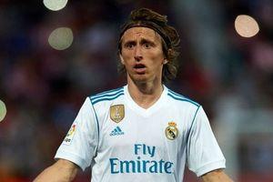Modric bực bội vì bị kiểm tra doping sau chiến thắng trước Ajax