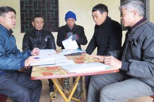 Làm rõ sai phạm trong dồn điền đổi thửa ở xã Trần Phú