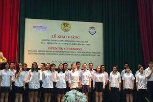 7 trường THCS ở Hà Nội tuyển học sinh lớp 6 chương trình song bằng