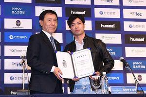 Gia nhập Incheon United, Công Phượng nhận lương cao ngất ngưởng
