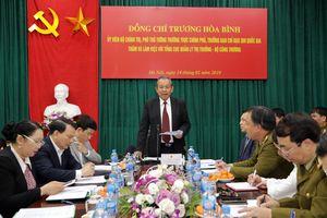 Phó Thủ tướng Trương Hòa Bình: 'Tổng cục QLTT cần khẩn trương kiện toàn bộ máy'
