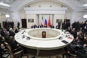 Thêm xung lực cho tiến trình hòa bình Syria