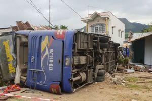Xe khách lao vào nhà dân ở Khánh Hòa chạy với tốc độ 84km/h