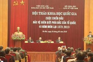 Khẳng định tính chính nghĩa của Việt Nam trong Cuộc chiến đấu bảo vệ biên giới phía Bắc