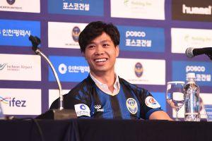 Công Phượng: 'Tôi sẽ luyện tập chăm chỉ để phục vụ Incheon United'
