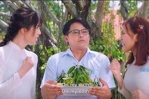 Ngọc Trinh với phát ngôn gây chú ý khi làm phim 'Vu quy đại náo'