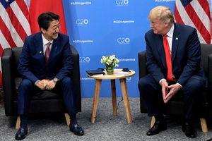 Ông Trump được ông Shinzo Abe đề cử giải Nobel Hòa Bình?