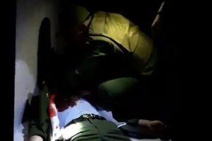 Một cán bộ công an phường bị thương nặng trong lúc làm nhiệm vụ