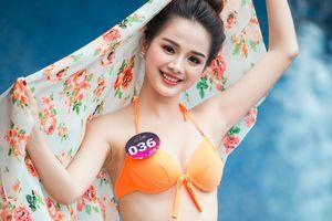 Thí sinh Người đẹp Kinh Bắc 'bốc lửa' với bikini