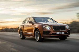Bentley Bentayga Speed trình làng, nhằm giành lại ngôi vị SUV nhanh nhất thế giới