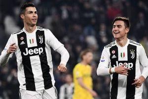 Ronaldo lại tỏa sáng, Juventus không có đối thủ tại Serie A