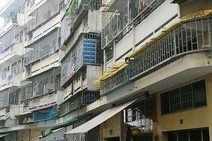 TP Hồ Chí Minh sẽ tháo dỡ chung cư bị nghiêng, lún để xây mới