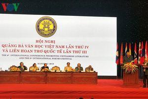 Khai mạc Hội nghị quốc tế quảng bá văn học Việt Nam lần thứ IV