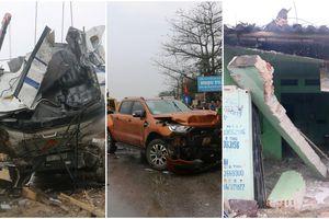 Ảnh, clip: Hiện trường vụ tai nạn liên hoàn trên Quốc lộ 1A khiến 8 người thương vong