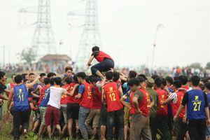 Dừng tổ chức phần đánh phết ở lễ hội Phết Hiền Quan