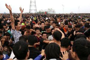 Chính thức dừng hoạt động đánh phết tại Lễ hội phết Hiền Quan