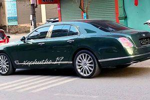 Đại gia Phú Thọ tậu xe sang Bentley Mulsanne mới tiền tỷ