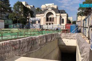 Khám phá hầm ngầm metro ở trung tâm TP.HCM