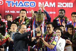 Toàn cảnh trận đấu đỉnh cao Siêu cúp Quốc gia - cúp THACO 2018