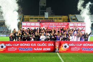 CLB Hà Nội đoạt Siêu cúp Quốc gia bằng đội hình 2