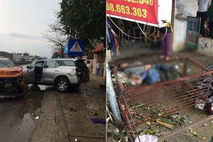 Tai nạn liên hoàn trên quốc lộ 1A, 4 người thương vong ở Thanh Hóa