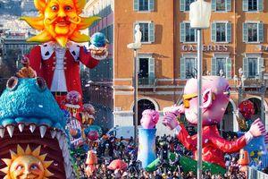Sôi động lễ hội Carnival Nice ở Pháp