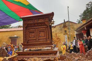 Cổ vật bị đánh cắp được trả lại cho đình Hoàng Châu (Hải Phòng)