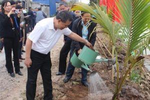 HND TP.Hải Phòng trồng cây xanh, góp phần bảo vệ môi trường
