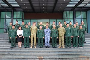 Đội Công binh Việt Nam chuẩn bị tham gia hoạt động Gìn giữ hòa bình Liên hợp quốc