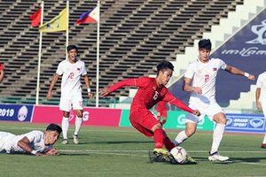 Giải U22 Đông Nam Á: Đội tuyển Việt Nam dẫn đầu bảng A