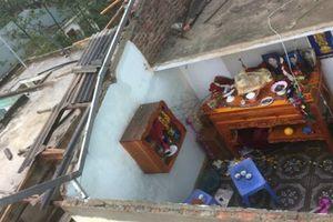 Giông lốc giật đổ cột điện, tốc mái và sập đổ nhiều nhà dân ở Tuyên Quang