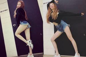 HyunA khoe chân sexy, cư dân mạng bình luận thô tục