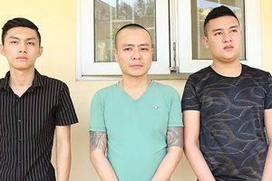 Nhóm đối tượng bắt giữ người trái pháp luật, cưỡng đoạt tài sản