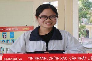 Nữ sinh Hà Tĩnh vào đội dự tuyển Olympic quốc tế môn Sinh học