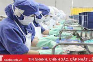 Thủy sản Nam Hà Tĩnh khai xuân đơn hàng 8 tỷ đồng