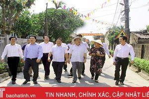 Bà con Hà Tĩnh đã phát huy thế mạnh trên từng mảnh vườn để tăng thu nhập