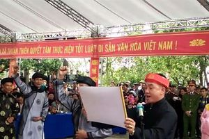 Clip: Thề không tham nhũng trong hội Minh Thề, chỉ có quan thôn