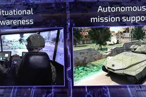 Israel phát triển xe tăng tích hợp robot tương lai